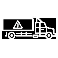 hazard truck icon